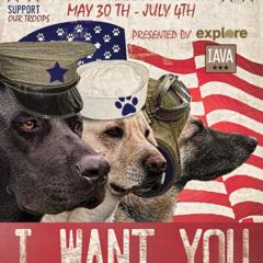 Explore Presents Dog Bless U.S.A.
