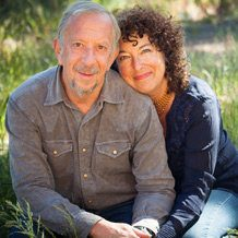 Kenny Asubel and Nina Simons