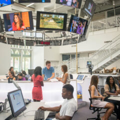 Take a 360 Virtual Reality tour of the Wallis Annenberg Hall at University of Southern California