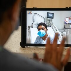 iPad Donation to County Hospitals Allows Isolated COVID-19 Patients to Virtually Visit Friends and Family