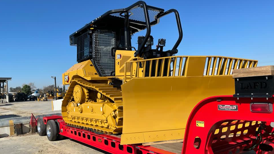 Support from the Annenberg Foundation helps add a D5 bulldozer to LAFD's fleet.