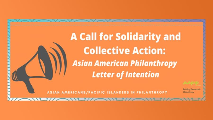 """The Annenberg Foundation signs on to """"A Call for Solidarity and Collective Action"""" from AAPIP."""