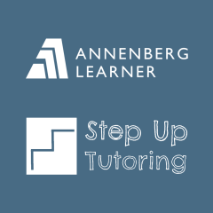 Annenberg Learner and Step Up Tutoring